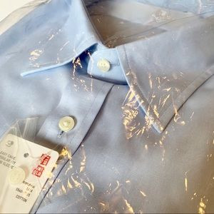 Uniqlo Easy Care Regular-Fit Long Sleeve Shirt